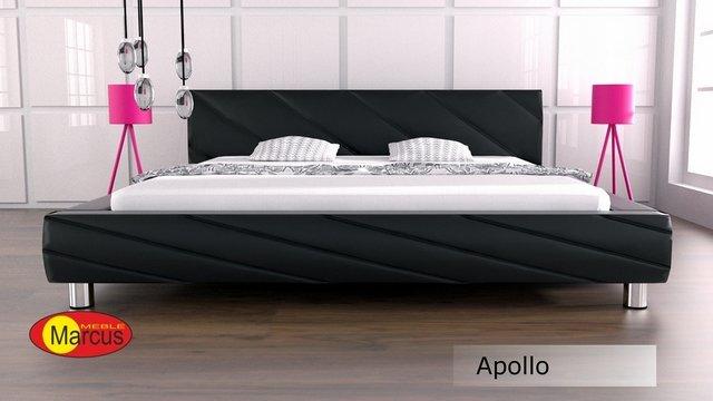 łóżko tapicerowane Apollo skóra ekologiczna