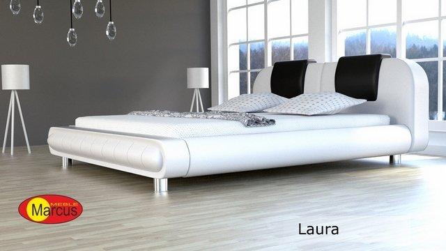 łóżko Laura skóra ekologiczna