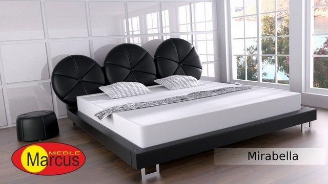 łóżko samba lux skóra ekologiczna