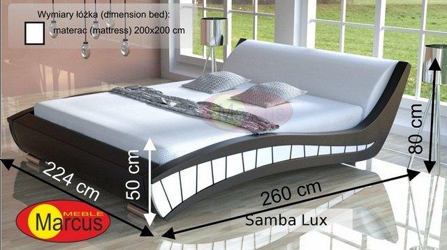 łóżko Samba 200x200 cm