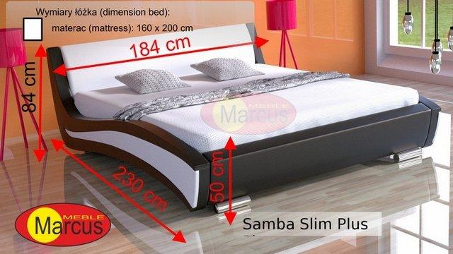 łóżko Samba slim plus 160x200 cm