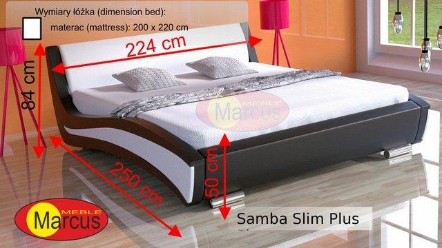 łóżko Samba slim plus 200x220 cm