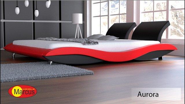 łóżko aurora skóra ekologiczna