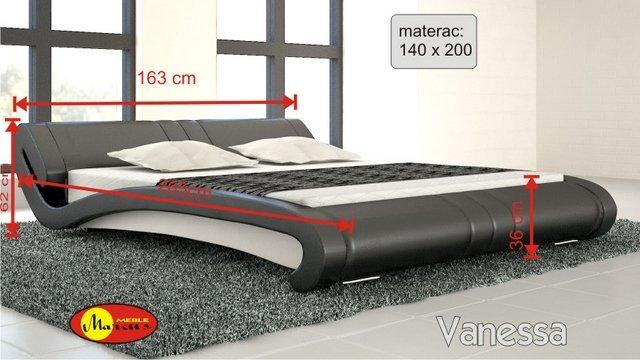 łóżko lozko Stilo 2 140x200 cm